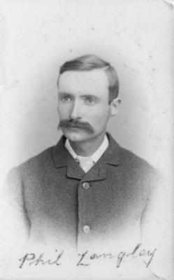 Portrait of Phil Langley