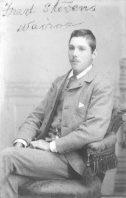 Portrait of Fred Stevens
