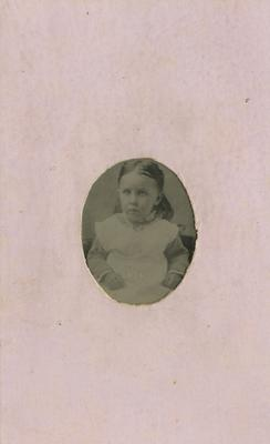 Portrait of Florence Edith Langley