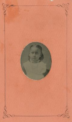Portrait of Clara Agnes Langley