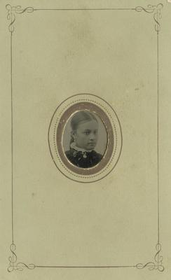 Portrait of Mary Langley