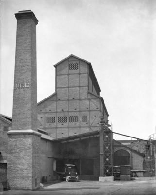 Napier Gas Company Works