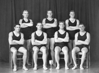 Te Awa Swimming Club, Water Polo Team; Hurst, Arthur Bendigo
