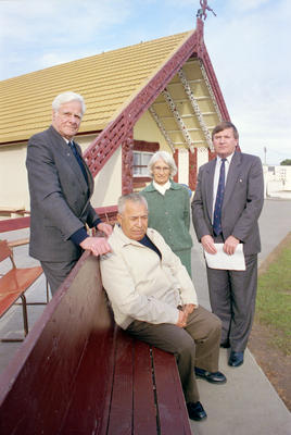 Waitangi Tribunal members, Ōmāhu Marae