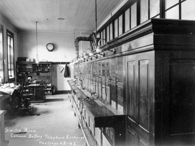 Switch Room, Common Battery Telephone Exchange, Hastings