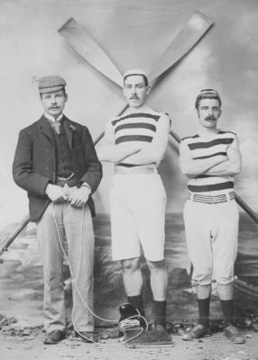 Group portrait, Napier Rowing Club