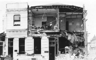 Building Damage, Shakespeare Road
