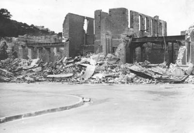 Damaged Building, Napier