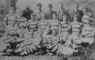 Group portrait, English Football Team
