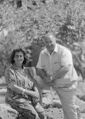 Abe Williams and wife Esme