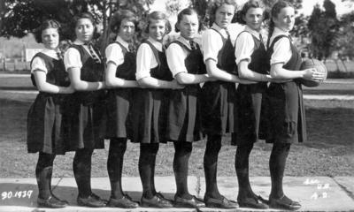 Basketball Team, Wairoa District High School
