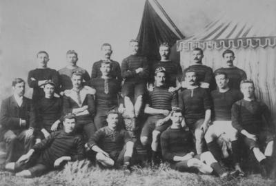 Group portrait, Canterbury Football Representatives