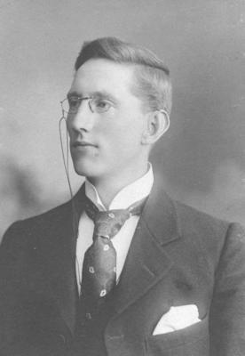 Portrait of Dr John Leahy