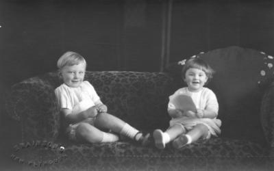 Portrait of Noreen and Colin Lovegrove