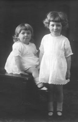 Portrait of Margaret and Joyce McKeesick