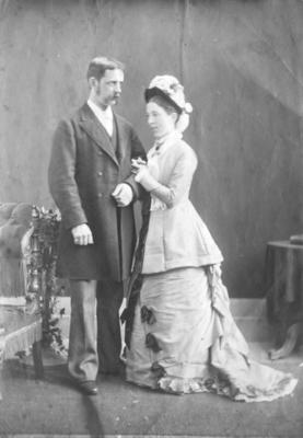 Portrait of Robert and Emily Lydford