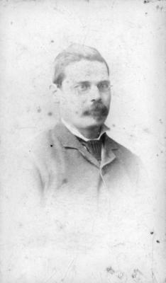 Portrait of John William McDougall; Carnell, Samuel