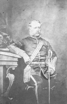 Portrait of Lieutenant-Colonel Robert Henry MacGregor