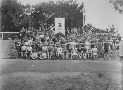 Group portrait, New Zealand Amateur Athletic and Cycling Championships